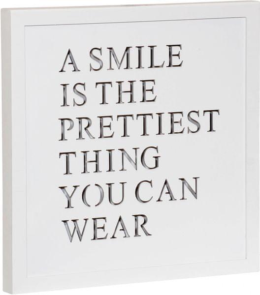 Time Life Dekorační deska Smile s podsvícením