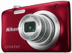 Nikon fotoaparat Coolpix A10 + SD 8GB + torbica