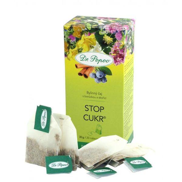 Čaj Stop cukr porcovaný 30g Dr.Popov