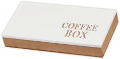 TimeLife Krabička na kávové kapsle bílá