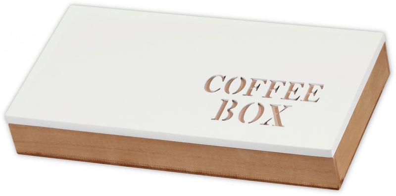 Time Life Krabička na kávové kapsle bílá