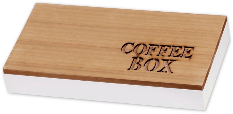 Time Life Krabička na kávové kapsle hnědá