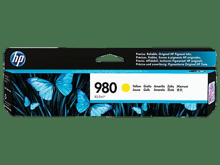 HP kartuša 980, rumena (D8J09A)