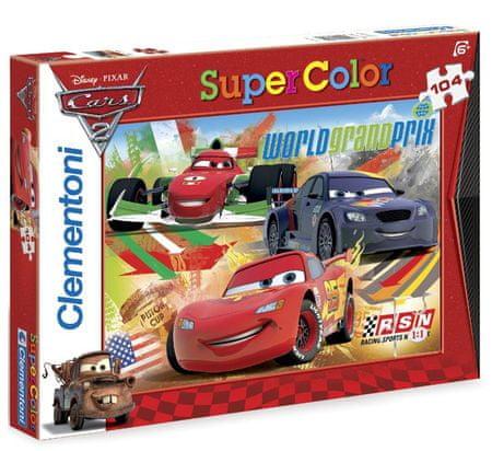 Clementoni Clementoni Puzzle Cars 2, 104 dílků