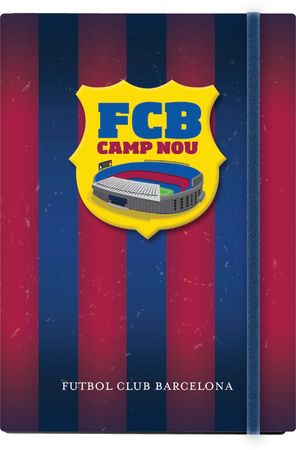 Barcelona FC notes trdi z elastiko A5/1R
