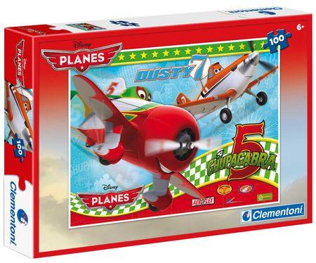 Clementoni Puzzle Planes, Dusty 100 dílků