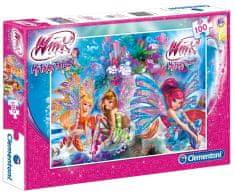 Clementoni Puzzle Winx 100 dílků