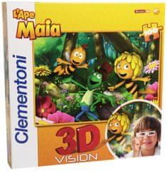Clementoni 3D puzzle s brýlemi Včelka Mája 100 dílků