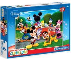 Clementoni Puzzle Mickeyho klubík 100 dílků
