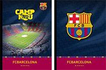 Barcelona FC zvezek trdi A5, karo 60L