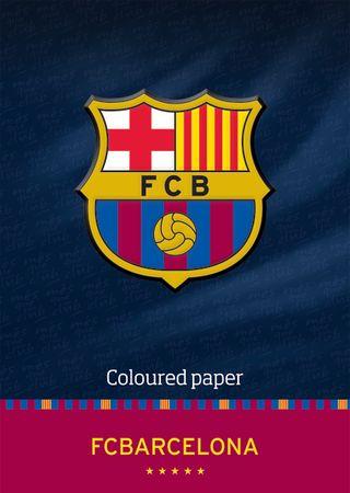 Barcelona FC kolaž papir A4, 20 listov