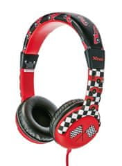 Trust słuchawki Spila Kids (20953), czerwone