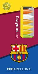 Barcelona FC voščene barvice, 12 kosov