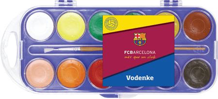 Barcelona FC vodene barvice, 12 kosov
