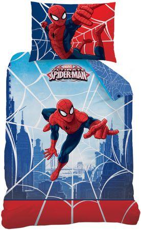 CTI posteljnina, 140 x 200 cm, Spiderman
