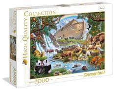 Clementoni Puzzle Noemova archa 2000 dílků