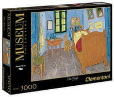 Clementoni Puzzle Vincentova ložnice v Arles 3000 dílků