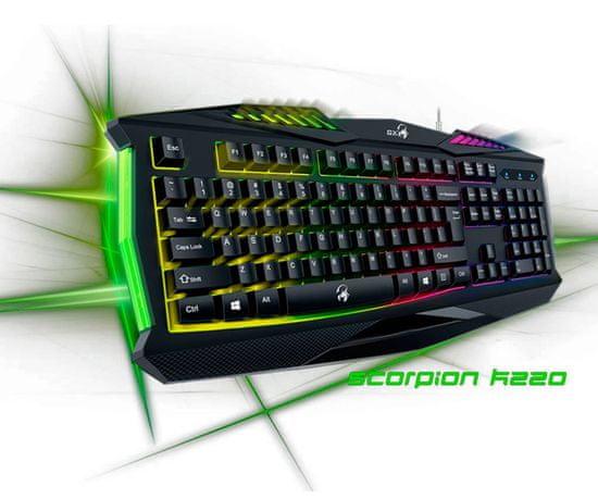 Genius Scorpion K220 gaming tipkovnica