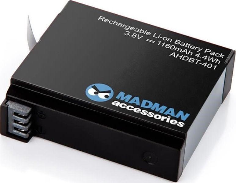 Madman Baterie pro GoPro HERO4
