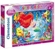 Clementoni Puzzle Malá mořská víla Ariel 60 dílků