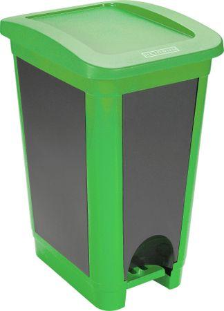 Heidrun koš za odpadke, 50 l, zelen