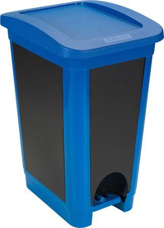 Heidrun koš za odpadke, 50 l, moder