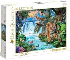 Clementoni Puzzle Tygrysia rodzina 3000 el.