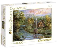 Clementoni Puzzle Srub u potoka 4000 dílků