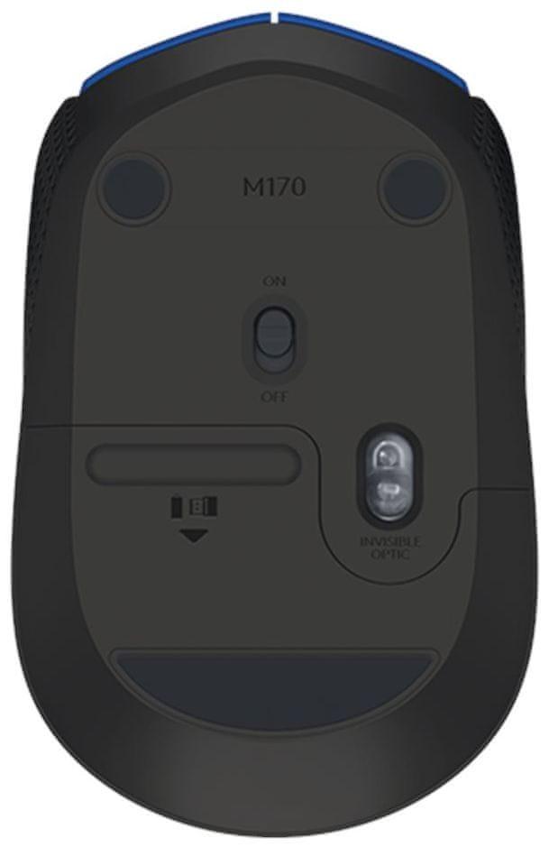 Logitech Wireless Mouse M171 modrá (910-004640)