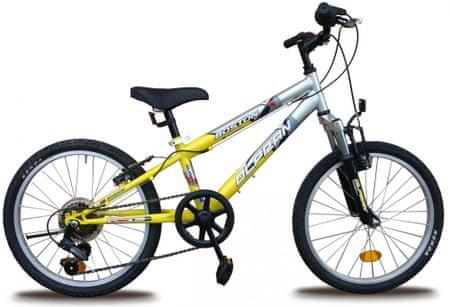 """Olpran rower dziecięcy Boston 20"""" yellow"""