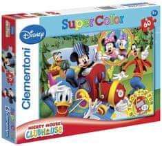 Clementoni Puzzle Mickeyho klubík 60 dílků