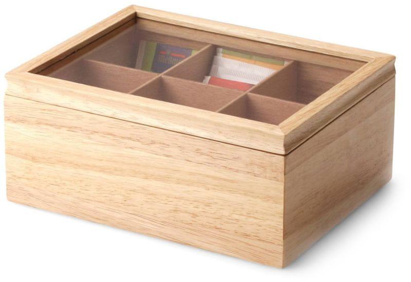 Continenta Box na čajové sáčky 23 cm