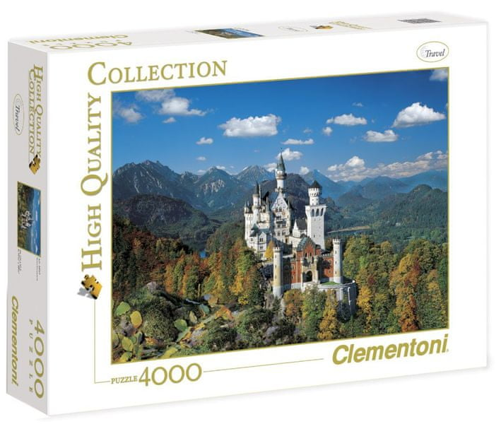 Clementoni Puzzle Neuschwanstein 4000 dílků