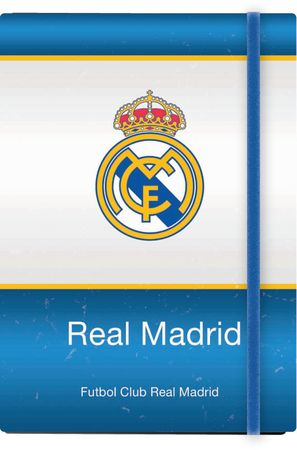 FC Real Madrid notes z elastiko, trd, A6/1R