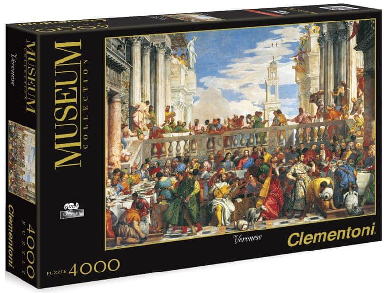 Clementoni Puzzle Svatba v Káně 4000 dílků
