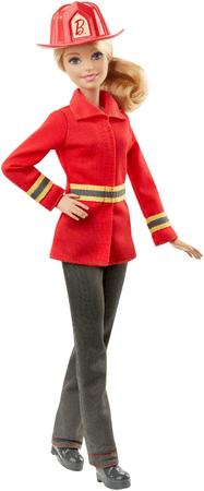 Mattel Barbie w zawodzie strażaka DHB18