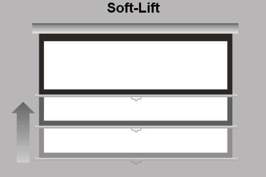 Reflecta rolo projekcijsko platno CRYSTALLINE SL 87723, 240x240cm