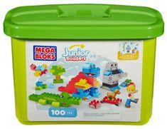 MEGA BLOKS Klocki w pudełku Junior Builders 100 el.