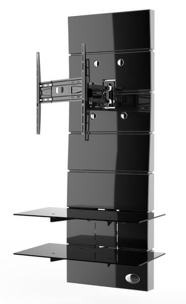 Meliconi Ghost Design 3000 ROTATION, černá