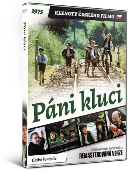 Páni kluci - edice KLENOTY ČESKÉHO FILMU (remasterovaná verze) - DVD