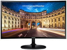 "SAMSUNG LC27F390FH LED monitor, 27"" Ívelt FullHD"