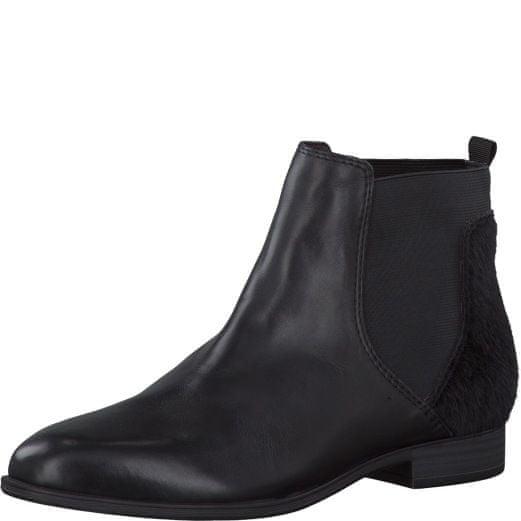 s.Oliver dámská kotníčková obuv 38 černá