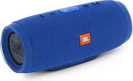 JBL zvočnik Charge 3 Bluetooth modra