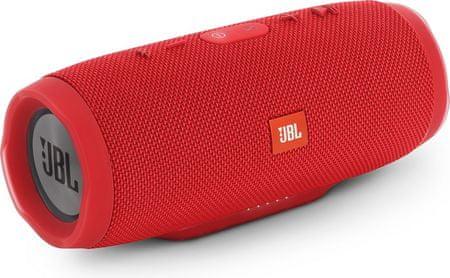 JBL zvočnik Charge 3 Bluetooth rdeča