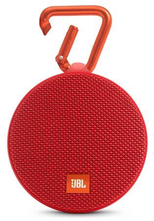 JBL zvočnik Clip 2 Bluetooth rdeča