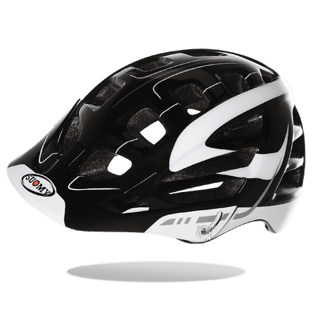 Suomy kolesarska čelada Scrambler S-Line, črno-bela, M