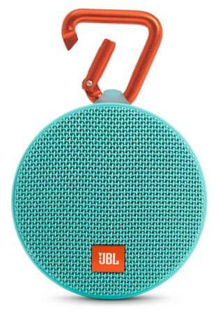 JBL Clip 2, tyrkysová