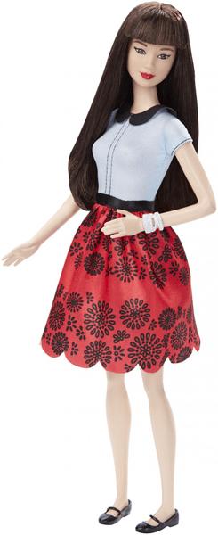 Mattel Barbie Modelka 19 Rubínová