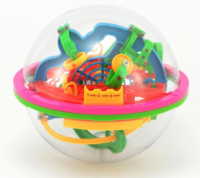Teddies Hlavolam Bludiště 3D koule 12cm