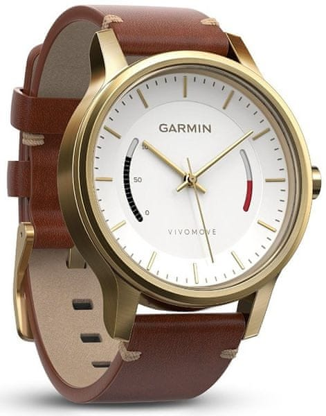 Garmin Vívomove Premium Gold Tone Steel 010-01597-21